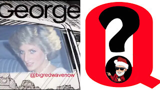 Princess Diana, Santa Claus of the United States, and Related Q Posts?
