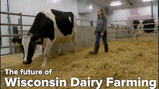 First all-female dairy farm class at Wisconsin college