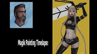 Magik Painting Timelapse