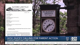 Hundreds of Flagstaff parents are calling for their school district to open the classroom doors