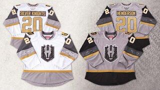 Henderson Silver Knights unveil inaugural season jerseys