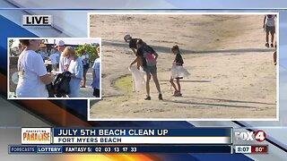 Keep Lee County Beautiful hosts beach clean-ups - 8am live report