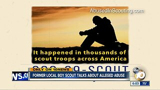 Former San Diego Boy Scout talks about alleged abuse