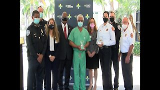 First responders receive awards in West Palm Beach