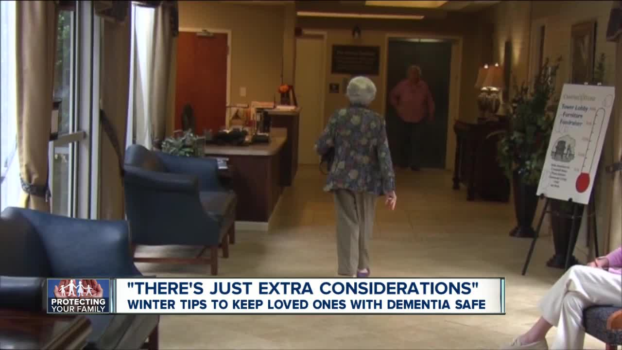 Cold weather tips to keep loved ones with dementia safe