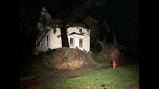 Severe Weather rips through Northeast Ohio