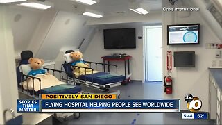 San Diego doctor boards flying eye hospital to help patients in need