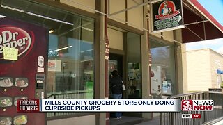 Mills Co. Grocery Store Only Doing Curbside Pickups