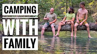 Family Camping Trip   Clean Up on the Mazarn Creek