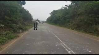 SOUTH AFRICA - Durban - Service delivery protest (Videos) (9kA)