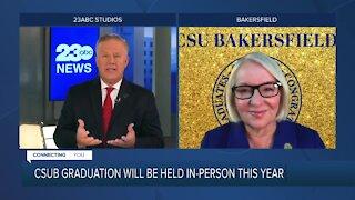 CSUB to allow in-person graduation ceremonies