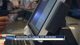 State and local officials propose 1% sales tax increase in Milwaukee County