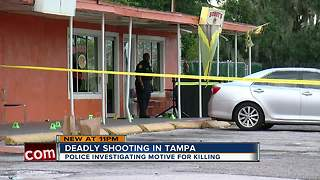 Police investigating fatal shooting in Tampa