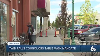 Twin Falls Mask Discussion Tabled
