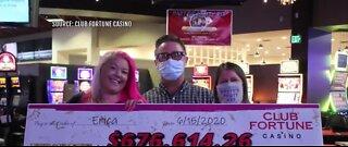 Local woman wins $676,000 jackpot