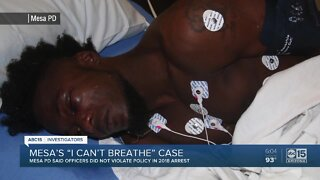 Mesa's 'I can't breathe' case