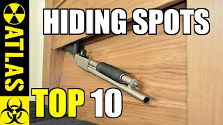 """Top 10 Incredible Ways to """"Hide Guns"""" in your Furniture"""