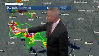 Capturing flash flooding in Okmulgee County