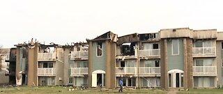 Riverview apartment fire leaves a dozen families homeless