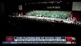End of the School year plans, KHSD still deciding on graduation