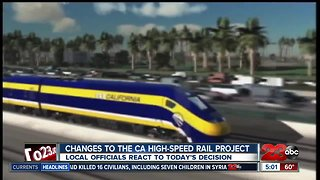 Big cuts to the CA High-Speed Rail Project