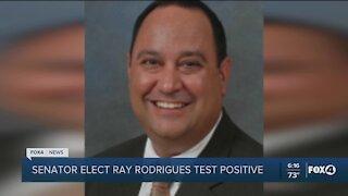 Senator-Elect Rodrigues positive for COVID
