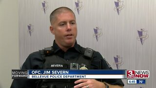 Bellevue officer buys car seats for mom in need during traffic stop
