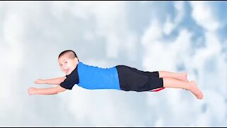Flying around The sky with Noah