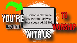 nazarene church tuscaloosa al Tuscaloosa Nazarene Church