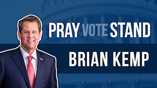 Gov. Brian Kemp Addresses Controversial Georgia Election Reform Bill & Woke Corp. America's Response