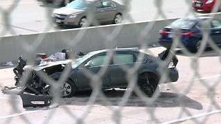 Crash shuts down Highway 75 near Q Street