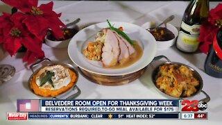Belvedere Room open Thanksgiving week