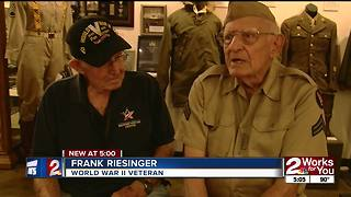 Veterans remember end of WWII, Japan surrendering