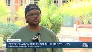 Arizona activists react to Derek Chauvin guilty verdict