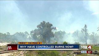 Prescribed burns during dry season dangerous but necessary