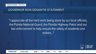 DeSantis: Florida protests 'largely peaceful'