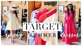 TARGET haul: Spring + Summer Dresses Under $40