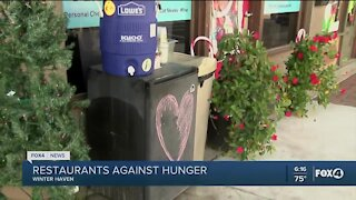 Restaurants against hunger