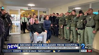 Second officer involved in Radacke Avenue shooting released from hospital
