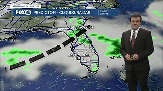 Forecast: More clouds with a few showers Sunday