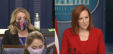 Reporter Confronts Press Sec for Not Answering Question