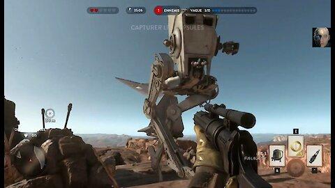 Star Wars: Battlefront the survival mode in desert