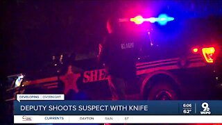 Clermont County deputy shoots man holding knife Tuesday night