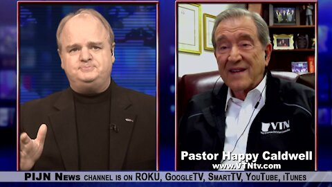 Victory TV Founder, Pastor Happy Caldwell Gives Us His Testimony and More