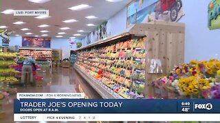 Trader Joe's in Fort Myers get ready for grand opening
