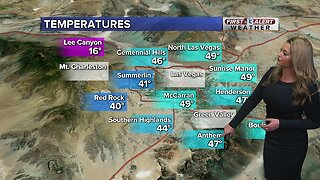 13 First Alert Las Vegas evening forecast | Feb. 4, 2020