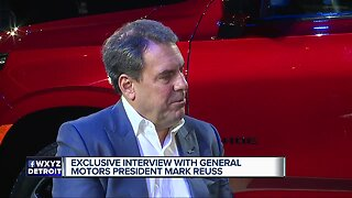 Exclusive interview with General Motors President Mark Reuss