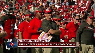 Tampa Bay Buccaneers fire head coach Dirk Koetter
