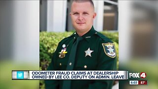 State investigating odometer fraud against deputy's business