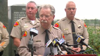 Kern County Sheriff's Office Wasco shooting press conference
